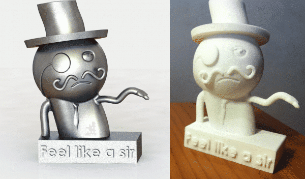 Feel like a sir 3D model en 3D print